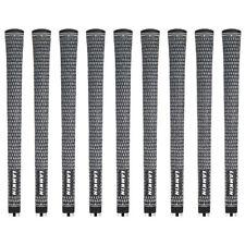 """Lamkin Crossline Cord Standard 0.580"""" Round - 9 Pieces Golf Grip Bundle - NEW!"""