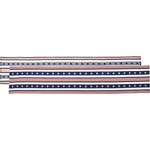 Primitives by Kathy Stars & Stripes Home Décor Table Runner