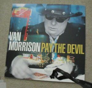 RARE Van Morrison Pay the Devil Record Store 24x24 Foam Album Promo Poster