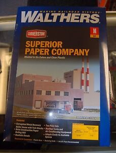 N Walthers Cornerstone kit 933-3237 * Superior Paper Company * NIB