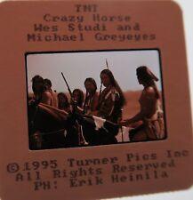 CRAZY HORSE CAST Michael Greyeyes Peter Horton Ned Beatty  ORIGINAL SLIDE 7