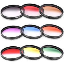 Filtros colores redondos para cámaras
