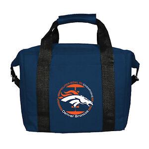 Denver Broncos NFL Team Logo Super Bowl 50 Champions Kolder 12 Pack Cooler Bag