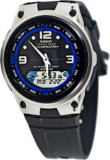 Casio AW-82-1AV Fishing Timer Moon Data Watch 10 Year Battery 3 Alarms Brand New