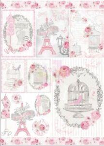 Carta per decoupage cm.50x70 Stamperia dfg vari disegni
