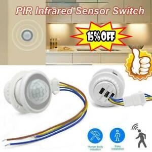 AC 110V 220V PIR Infrared Body Motion Sensor Detector Control Switch LightsLamp