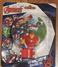 Marvel Avengers ~Super Cool LED Night Light ~ New