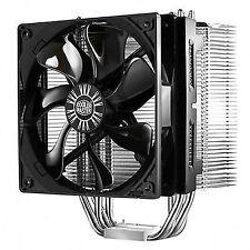 Intel AMD HYPER 412s CPU Cooler 4 Heatpipe 120mm Fan Silent Mode Adapter