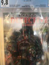 BATMAN DETECTIVE COMICS #1000 COVER BY JIM LEE CGC 9.8