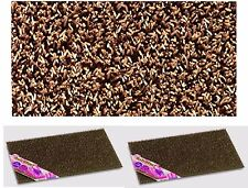 2x Astro Turf External Plastic Scraper Door Mat Anti Slip Home Entrance Coca Brn