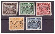 LIBIA 1952 - EMISSIONE PER LA TRIPOLITANIA - SEGNATASSE  SERIE  NUOVA **