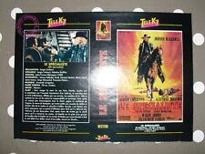 JOHNNY HALLYDAY Le Spécialiste Jaquette VHS