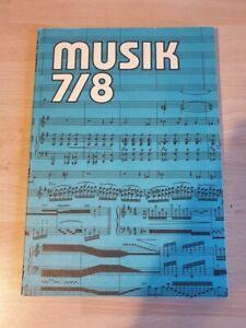 Musik Klasse 7/8 ,  Verlag Volk und Wissen der  DDR , Schulbuch