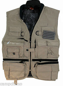 FROGG TOGGS TOADSKINZ™ HELLBENDER™  FLY FISHING PACK VEST KHAKI COLOR NTV35178