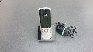 Gigaset S810 schnurlosen DECT Telefon mit Ladeschale S79H, S810H, S4 etc.