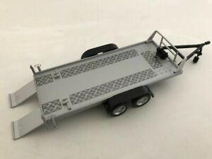 Abschleppanhänger, Autotransportanhänger, Cararama Auto Modell 1:43