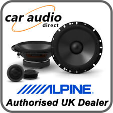 "ALPINE S-S65C 16.5cm 6.5"" 240W 2-Way Component Radio Stereo Audio Speakers Door"