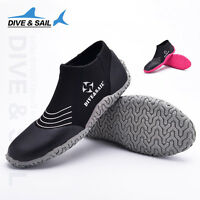 Ladies Men Watersports Surf Dive Jetski Neoprene 3mm Beach Wetsuit Boots Shoes