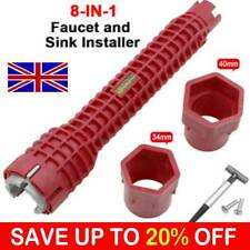 Sink Basin Multifunction Faucet Wrench Sink Install Tap Spanner Installer Tools'