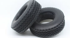 1/14 Semi Truck rc4wd Tires Lorry Tyres for Tamiya (Wide tires / 30mm) 2pcs