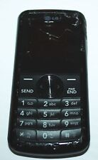 LG 300G--TRACFONE/NET 10 CELL PHONE (BLACK)--AS-IS/BROKEN/CRACKED SCREEN