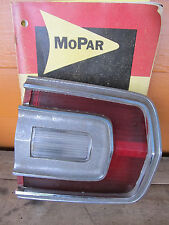 OEM 1968 Plymouth GTX Tail light Assembly Passenger Right Hand