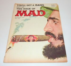 Mad Magazine Fidel Castro  Classic Mad    October 1963   Key Issue   See Photos