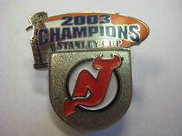 NHL Stanley Cup Champions 2003 New Jersey Devils Logo Pin