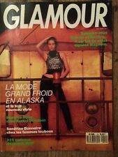 GLAMOUR French n°19 Dec 89 Paige Hall Beatrice Dalle Emmanuelle Beart Leica Mode