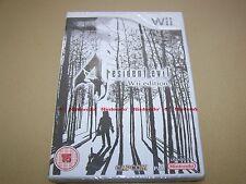 Resident EVIL 4 (Nintendo Wii, 2007) ** Nuovo e Sigillato ** (leggi descrizione)