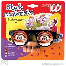 Disguise Glasses Joke Spy Novelty Fancy Dress Accessory