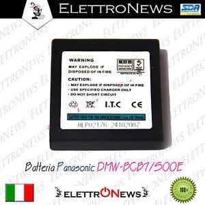 Batteria compatibile per fotocamera Panasonic BMW-BCB7-S004E 700mAh