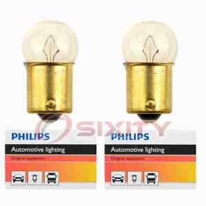 2 pc Philips Tail Light Bulbs for Dodge Monaco Polara 1972 Electrical vh