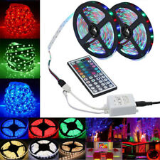 10M 3528 RGB 600 LED SMD Flexible Light Strip Lamp + 44key Remote control