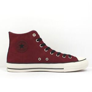 Converse Unisex Chuck Taylor All Star Pro Leather Pomegranate Lace Up Trainers