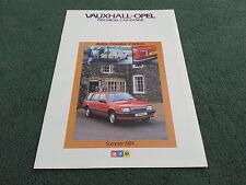 Summer 1984 VAUXHALL DIESEL CARS - Astra Cavalier Carlton - UK BROCHURE - V5222