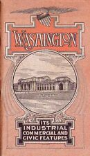 U.S.A. - WASHINGTON - ITS INDUSTRIAL COMMERCIAL AND CIVIC FEATURES - 1909