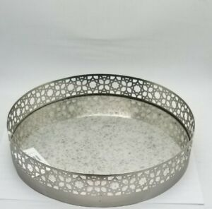 Yankee Candle - RENAISSANCE 10 inch ROUND Candle Tray NEW WITH TAGS FREE SHIP