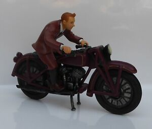 Tintin on Motorcycle Set from Plastoy 2011 (unboxed)