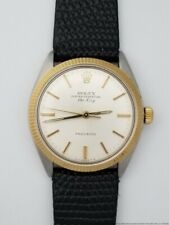 Mens Vintage Rolex Oyster Perpetual 5500 Air King Working Mens Watch