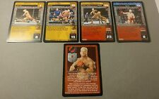 WWE Raw Deal HEIDENREICH 5 card Starter Set LAST ONE UNFORGIVEN