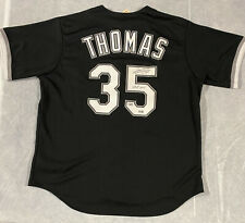 White Sox Frank Thomas Signed Majestic Jersey HOF '14 Fanatics and MLB Hologram