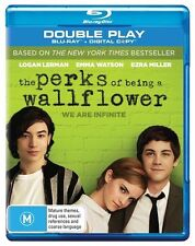The Perks Of Being A Wallflower (Blu-ray, 2013, 2-Disc Set)