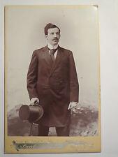 Halle a. S. - Hermann Hammerschmidt als Mann mit Zylinder - 1897 - Portrait  KAB