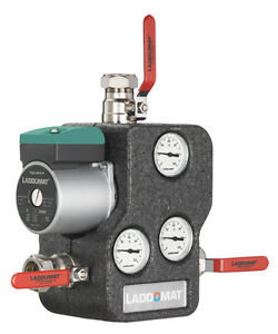 Laddomat 21-60  mit Energieeffizienzpumpe LM 6A Thermoelement 72 °C und Iso
