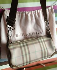 Chic! *BURBERRY* PiNk Nova Check Barrel Shoulder Bag BURBERRY London
