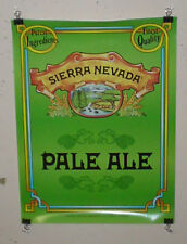 SIERRA NEVADA BEER POSTER PALE ALE MICRO CRAFT BEER