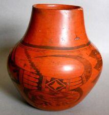 NAMPEYO of Hano! NOW REDUCED! Rare Sikyatki Revival HOPI-TEWA REDWARE Pottery!