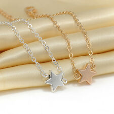 2pcs Star Partners in Crime Best Friend Bff Chain Necklace Anklet Bracelet Ol