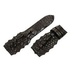 Unique Genuine Crocodile Alligator Leg Skin Leather Watch Strap Band 20mm/26mm